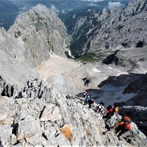 200 ani, Zugspitze.Episodul 7.Prin Höllental spre varf.